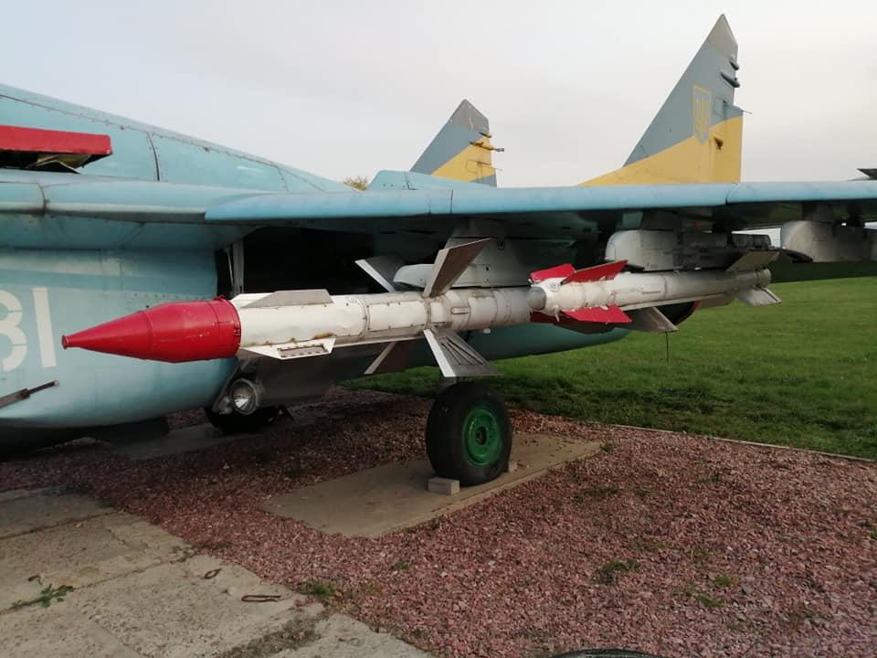 МиГ-29 в Государственном авиамузее вооружился