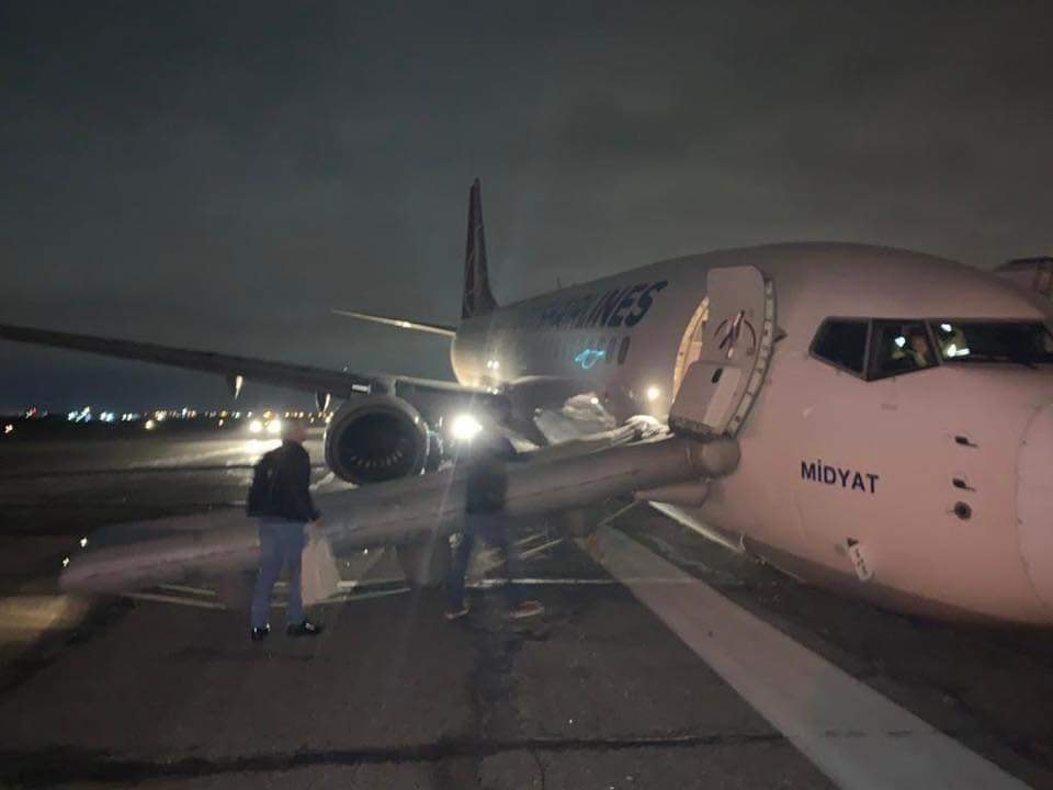Причиной происшествия с самолетом Turkish Airlines в Одессе назвали человеческий фактор
