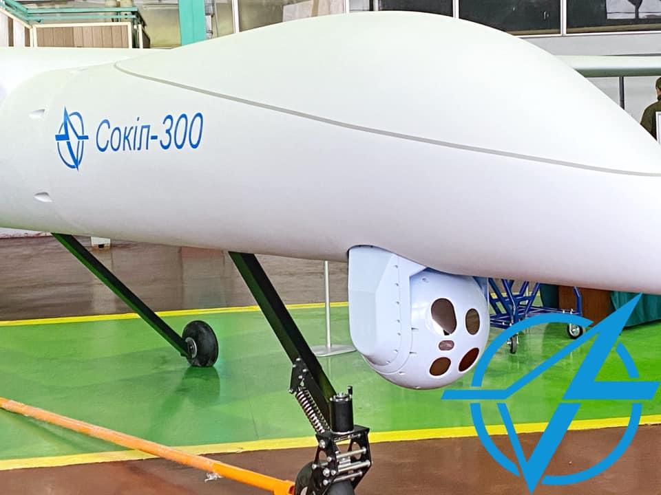 Состоялась презентация БПЛА Сокол-300