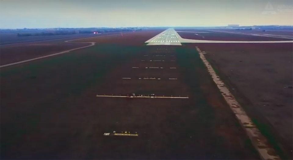 Как строили ВПП аэропорта Одесса