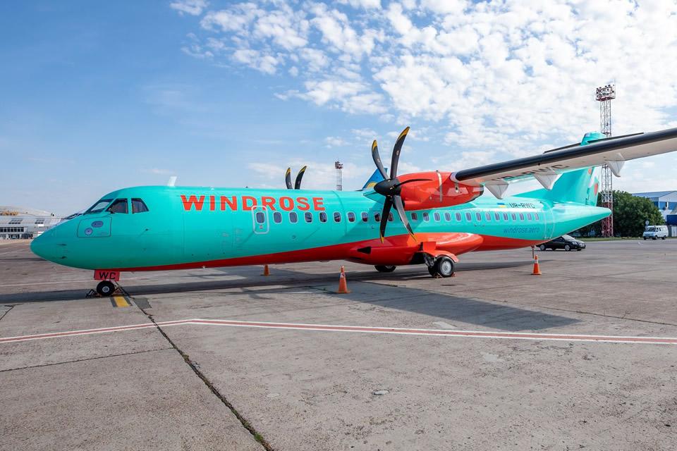 Windrose Airlines восстанавливает авиарейсы по направлению Киев-Запорожье-Киев