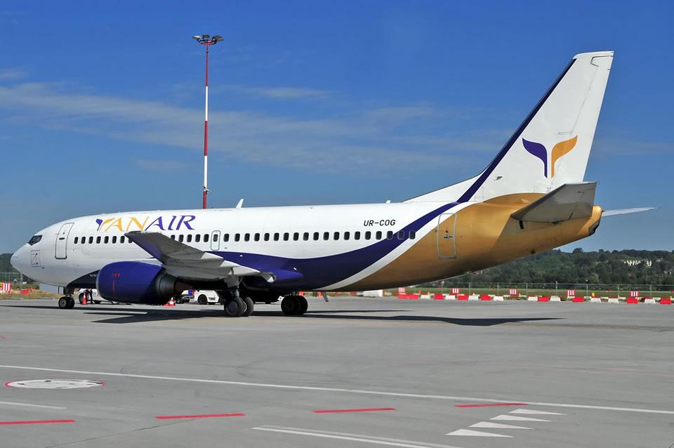 Yanair выполнит вывозной рейс из Батуми