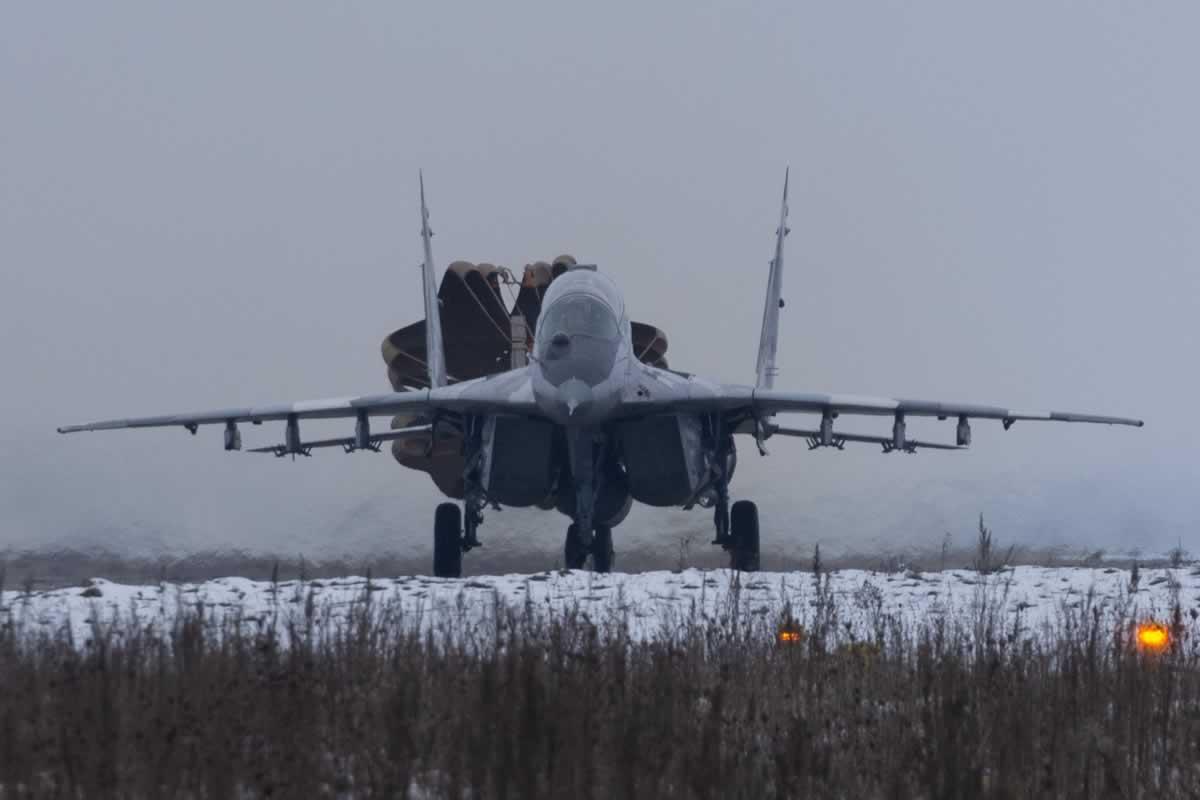 МиГ-29 Севастопольской авиабригады вернулись с боевого дежурства