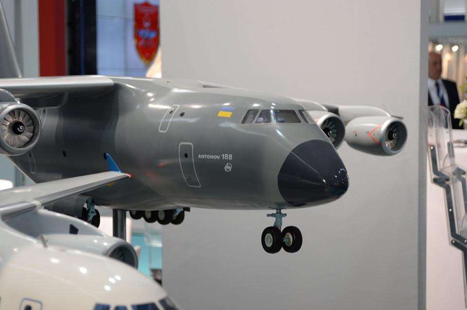 Украина предлагает Бразилии строить Ан-188 и авиадвигатели