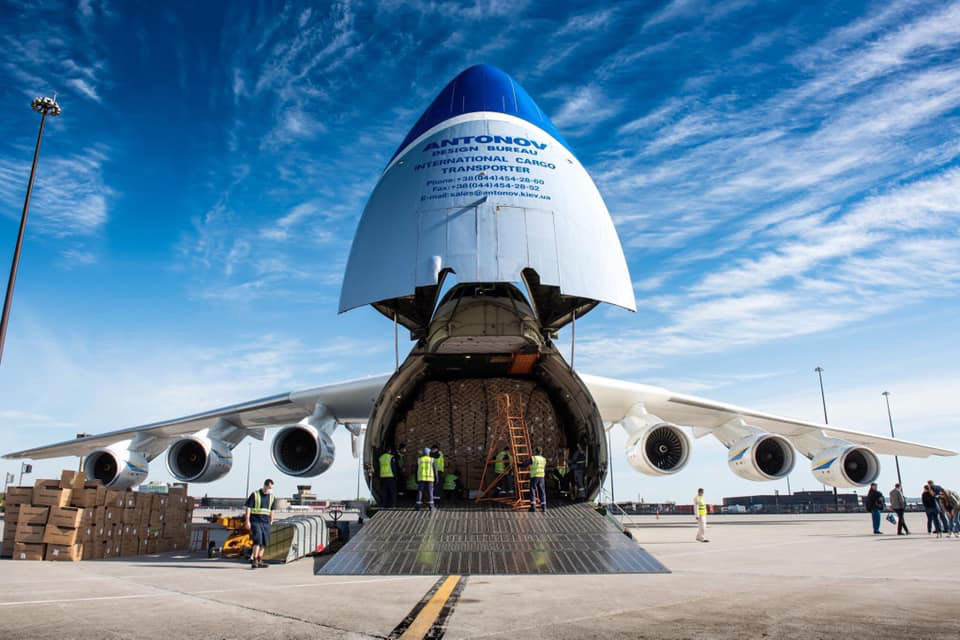 Ан-225 Мрия возвращается к обслуживанию коммерческих рейсов