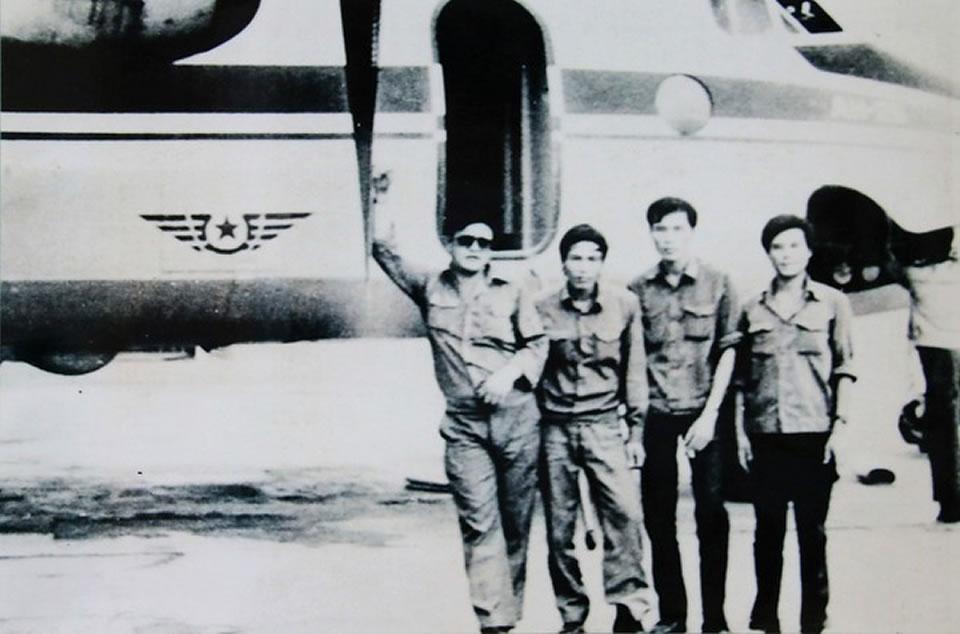 Ан-26 использовался как специальный самолет для высшего руководства Вьетнама