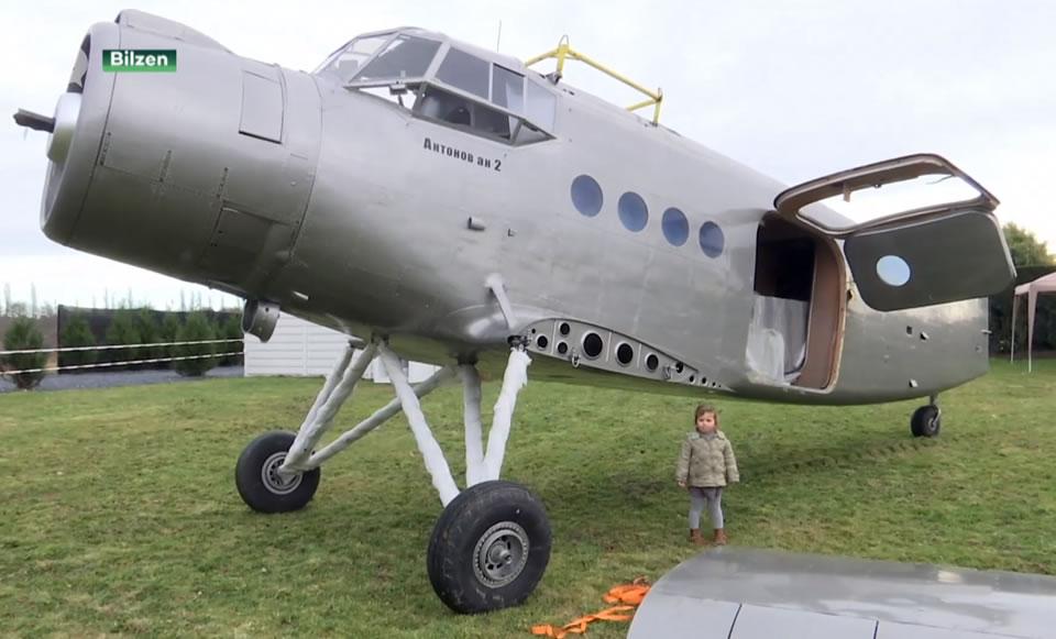 В Бельгии Ан-2 превращают в отель