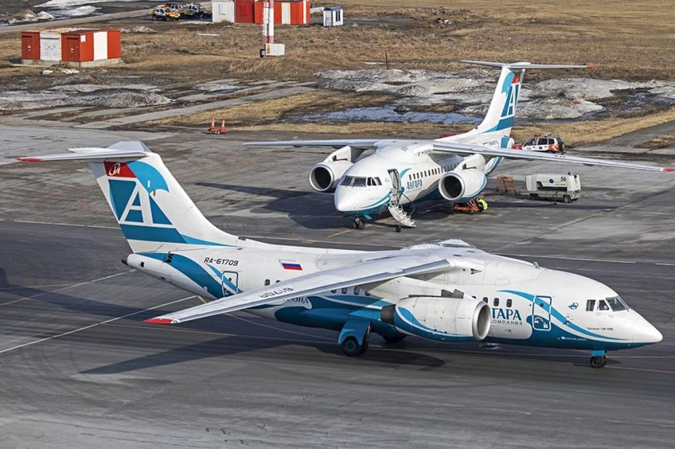 Ан-148 в России стоят под забором