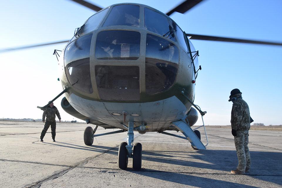 Большинство личного состава отдельной бригады армейской авиации имеет боевой опыт