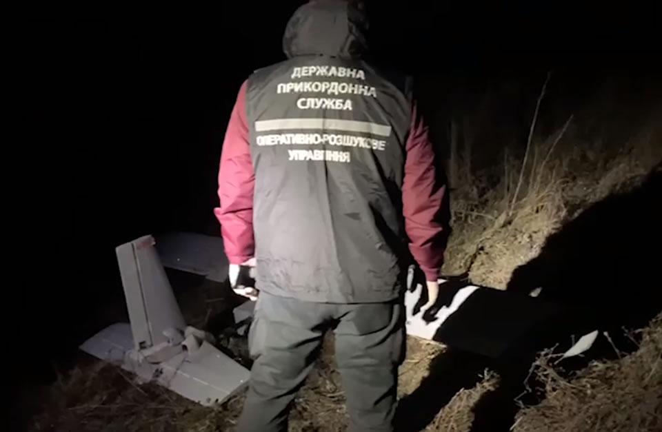 Пограничники конфисковали еще один БПЛА контрабандистов