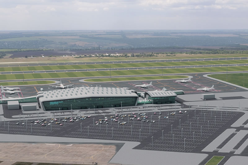 Уже с 4 января начнут работы по аэропорту Днепра
