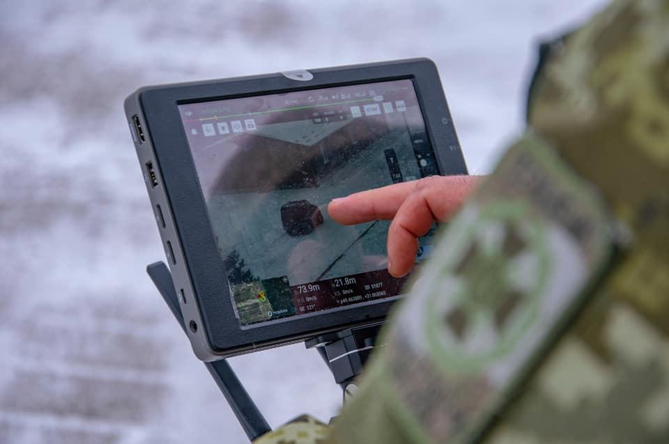 В Погранслужбе продолжается подготовка операторов БПЛА