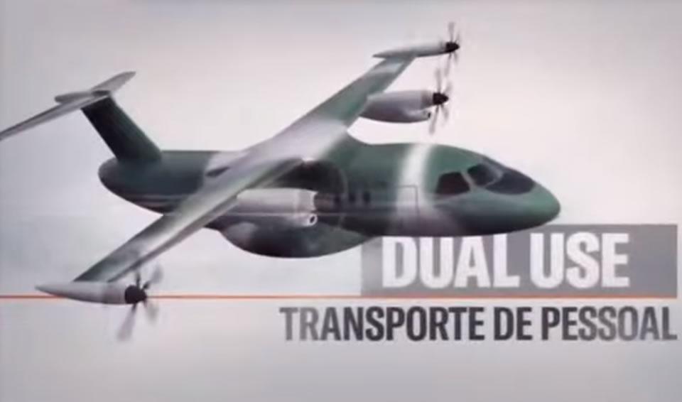 Embraer разрабатывает легкий гибридный транспортник