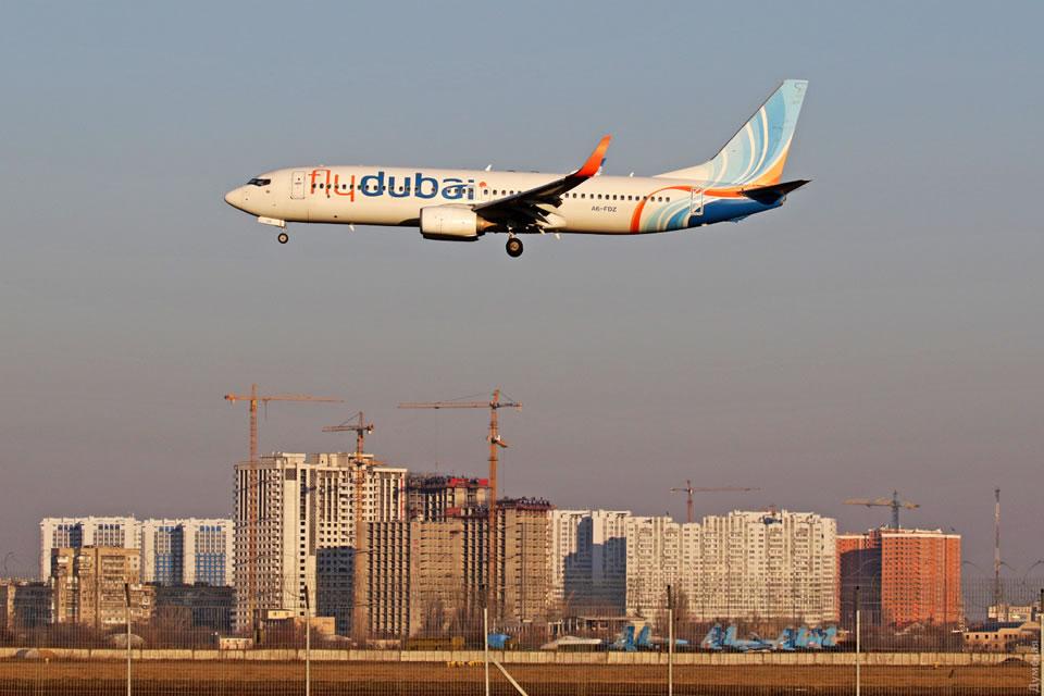 flydubai возобновила полеты в Одессу