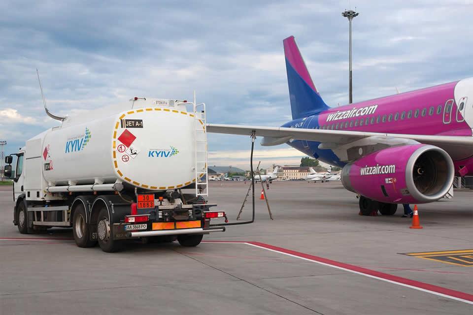 Импорт авиатоплива в ноябре обвалился