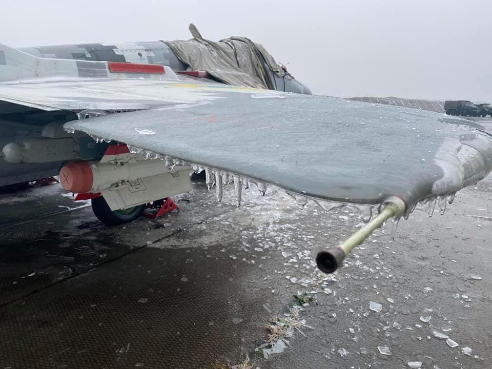 Непогода коснулась и тактической авиации ВСУ