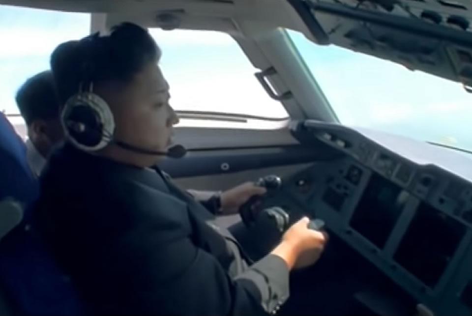Личный Ан-148 Ким Чен Ына внезапно поднялся в воздух