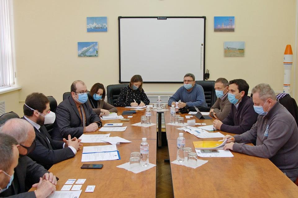 Французские компании заинтересованы в сотрудничестве с украинским космосом