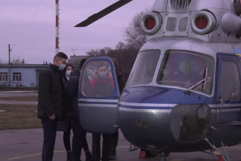 Кременчугский летный колледж получил три Ми-2