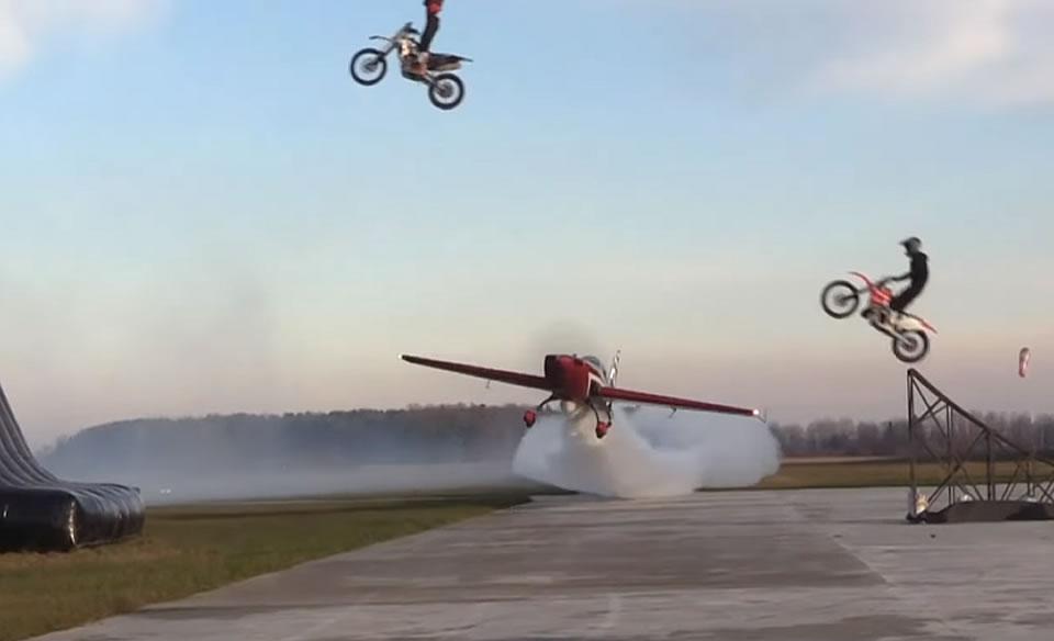 Тимур Фаткуллин выполнил мастерский трюк на своем самолете