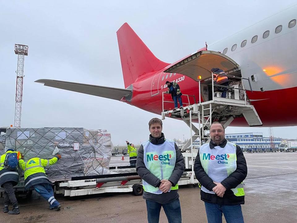 Компания Meest начала выполнять регулярные грузовые авиарейсы из Гонконга в Украину