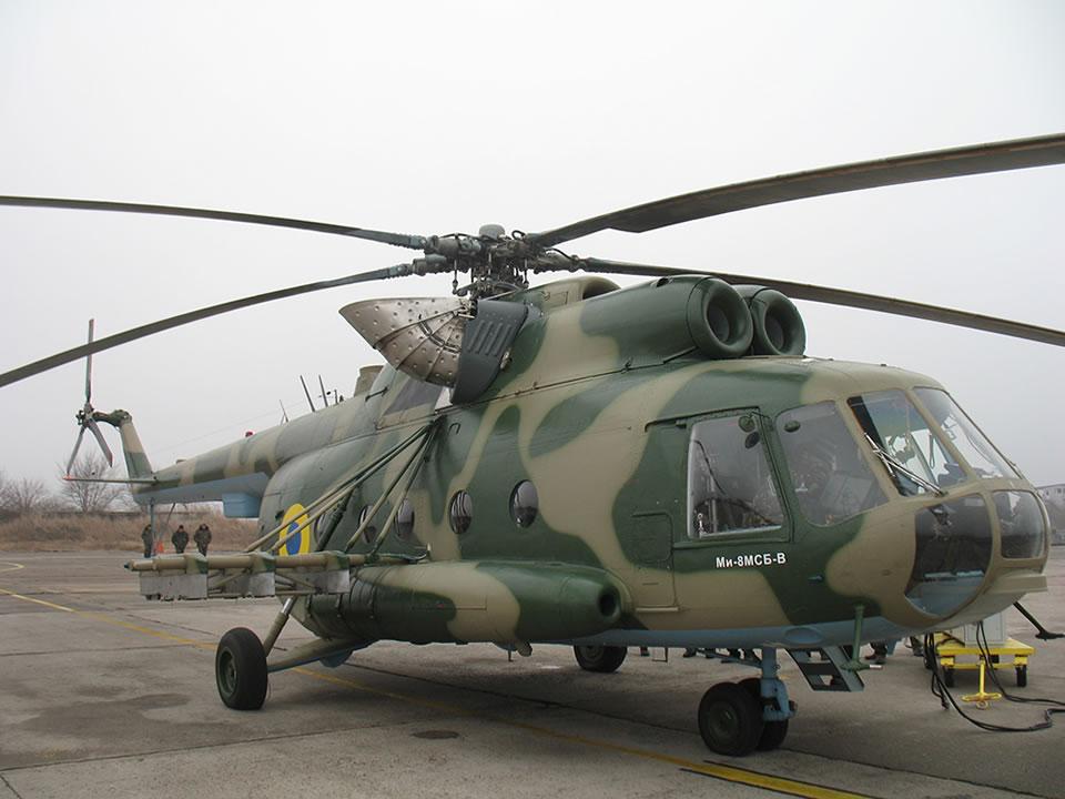 Еще два Ми-8 дооборудуют комплексами