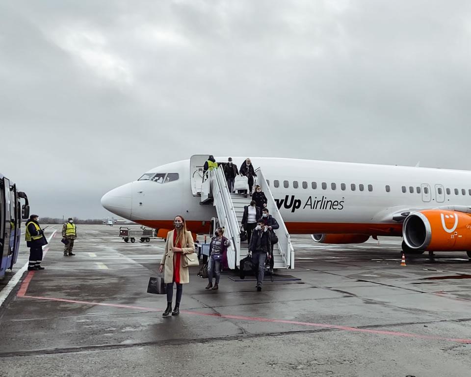 SkyUp начала летать из Одессы в Стамбул