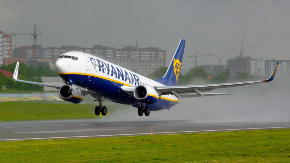 Ryanair весной запустит направление Киев-Венеция