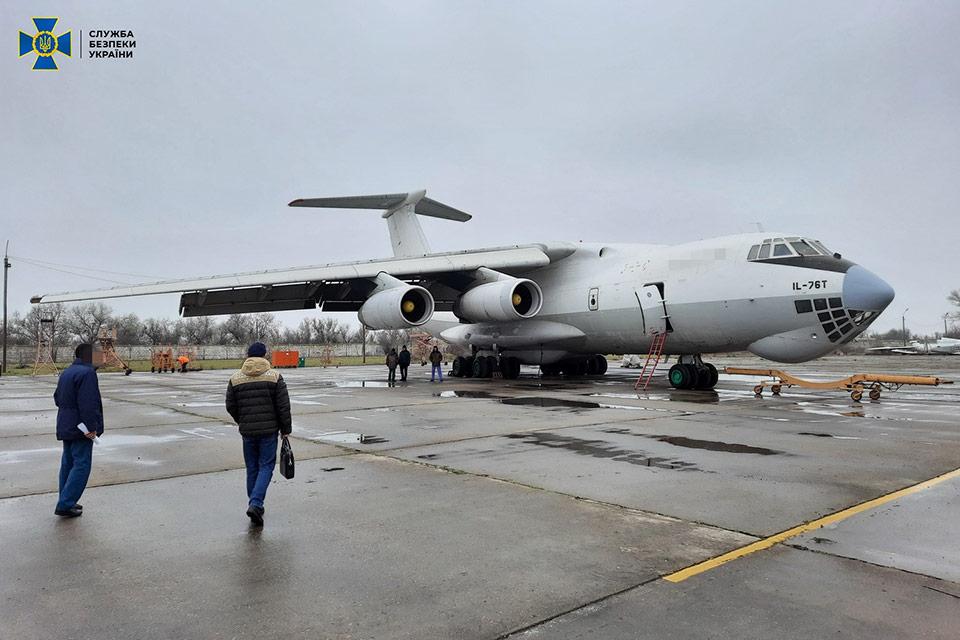 СБУ предупредила нелегальный экспорт авиационного военного оборудования