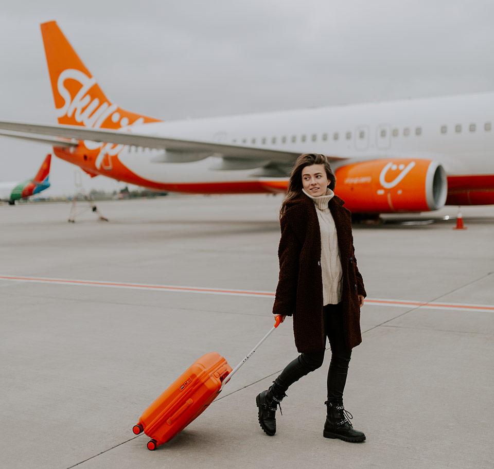 Авиакомпания SkyUp в ноябре выполнила 390 рейсов и запланировала новые направления