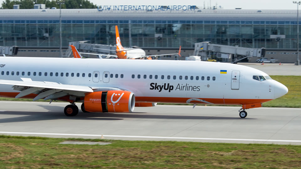 Комментарии Украэроруха и SkyUp относительно расчетов за аэронавигационное обслуживание