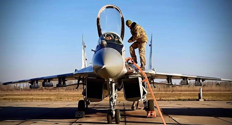 В Василькове получили модернизированный МиГ-29