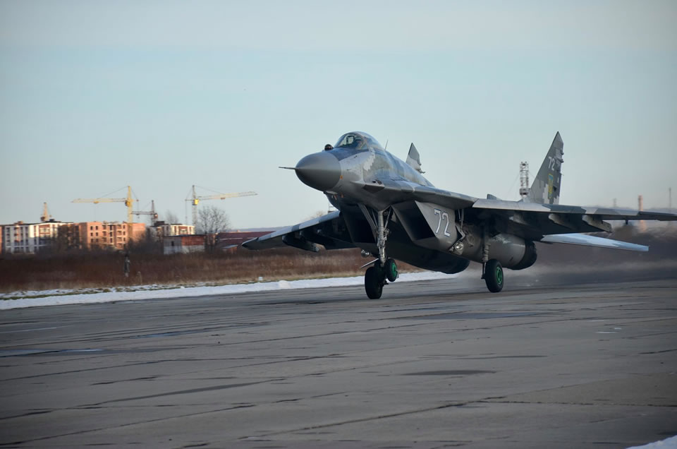 В Ивано-Франковской бригаде - командирские полеты