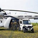 Украинские вертолетчики в Конго обеспечили ротацию индийских миротворцев