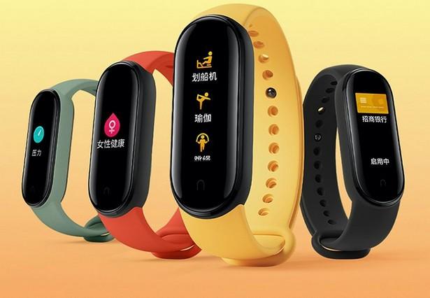 Новая модель фитнес-браслета MI Smart Band 5