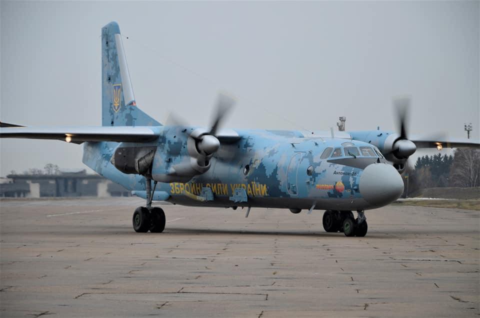 В Бориспольской бригаде транспортной авиации состоялись учебные полеты