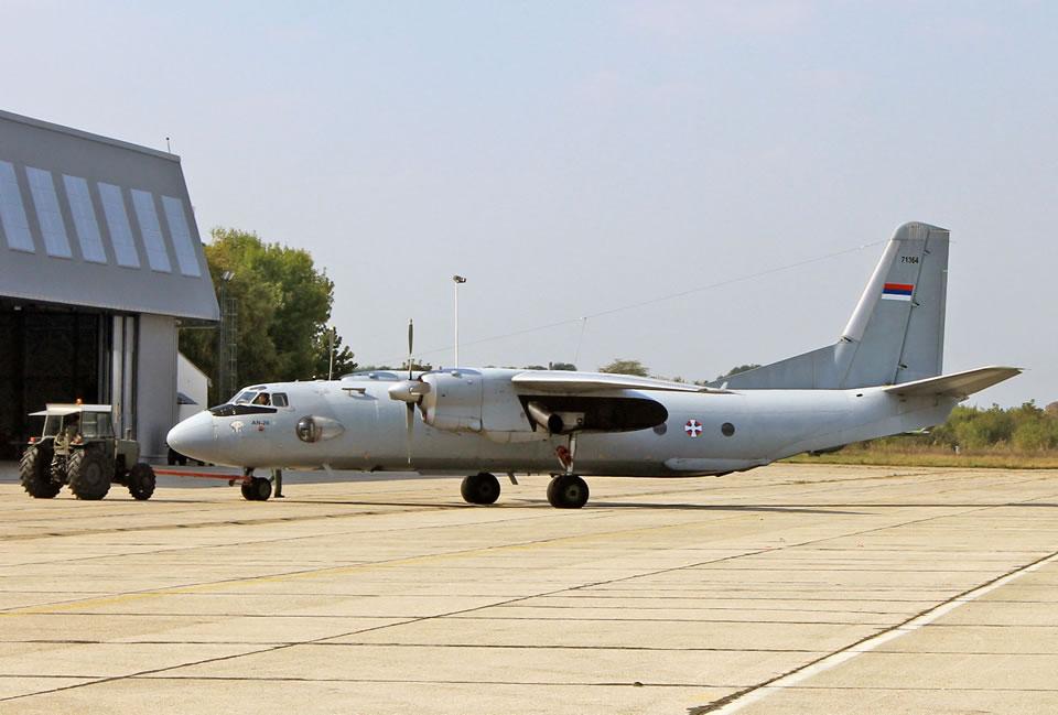 Сербия заинтересовалась возможностью ремонта своего Ан-26