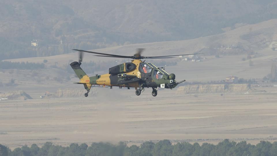 Турция в 2021 году начнет получать модернизированный боевой вертолет собственного производства