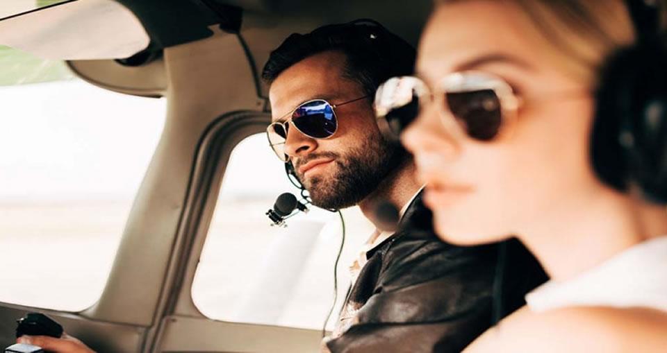 3 фактора, влияющих на выбор солнцезащитных очков пилоту воздушного судна