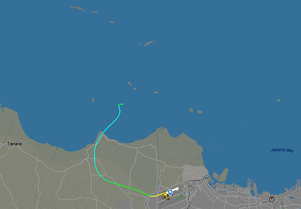 Самолет авиакомпании Sriwijaya Air пропал через час после вылета из Джакарты