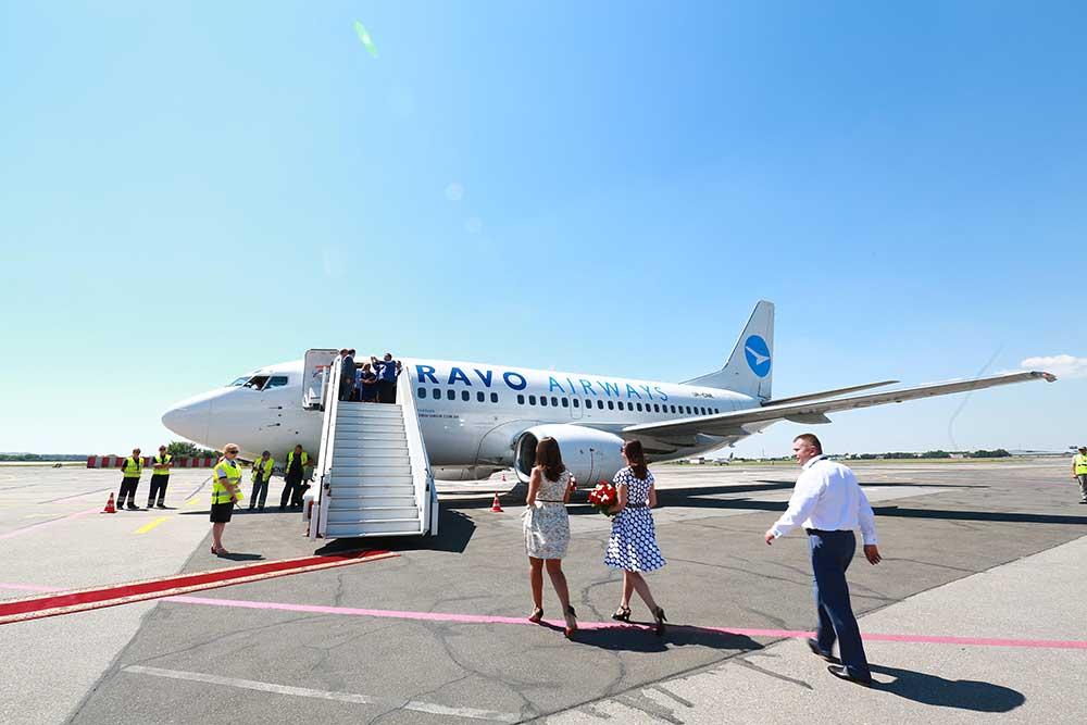 Иорданию открыли. Выполнен первый регулярный рейс.