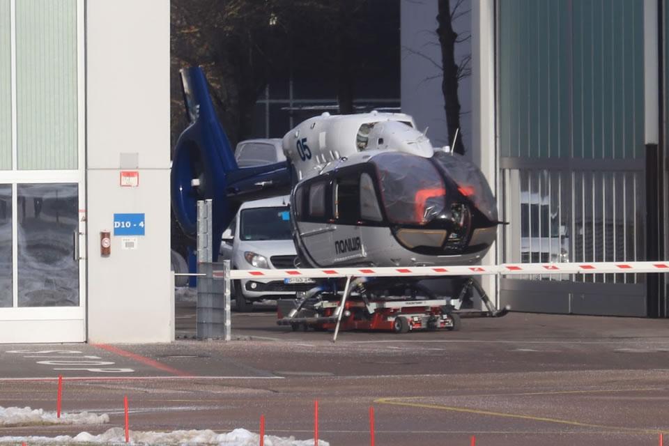 В Германии продолжается изготовление вертолетов для Нацполиции