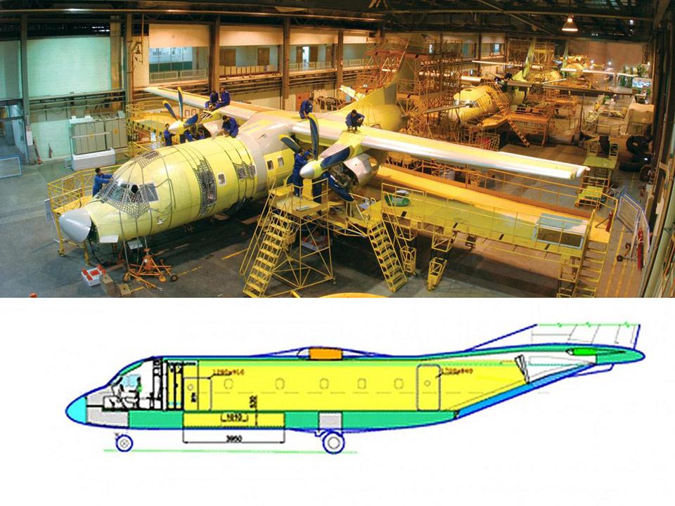 Иран переделает пассажирские самолеты Ан-140 в транспортные