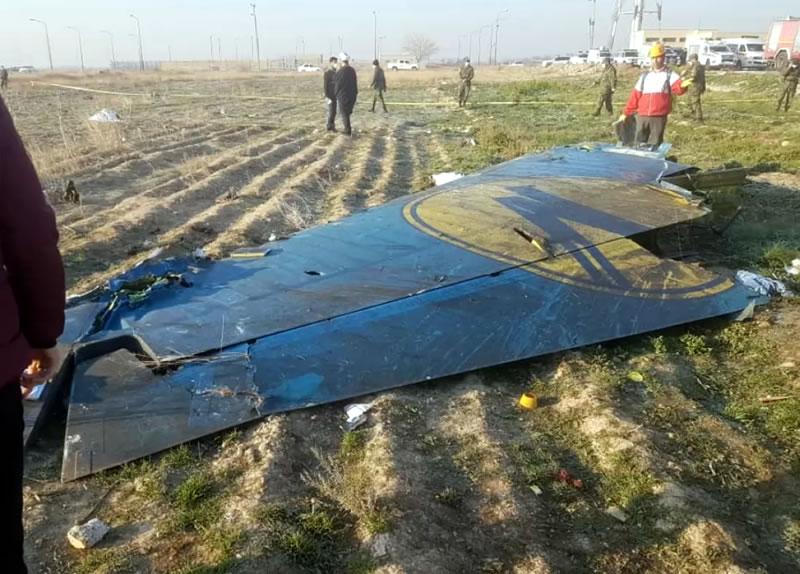 Иран передал Украине проект техотчета о катастрофе самолета МАУ