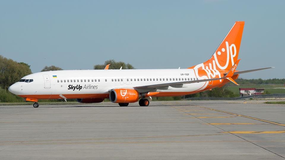 Авиакомпания SkyUp будет летать в Лодзь из 3 аэропортов