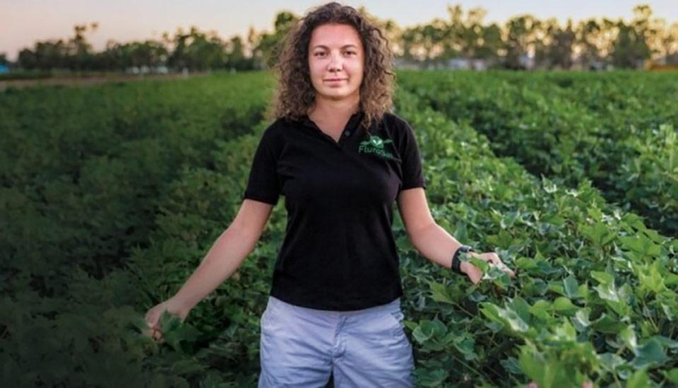 Космический стартап украинки помогает кормить весь мир