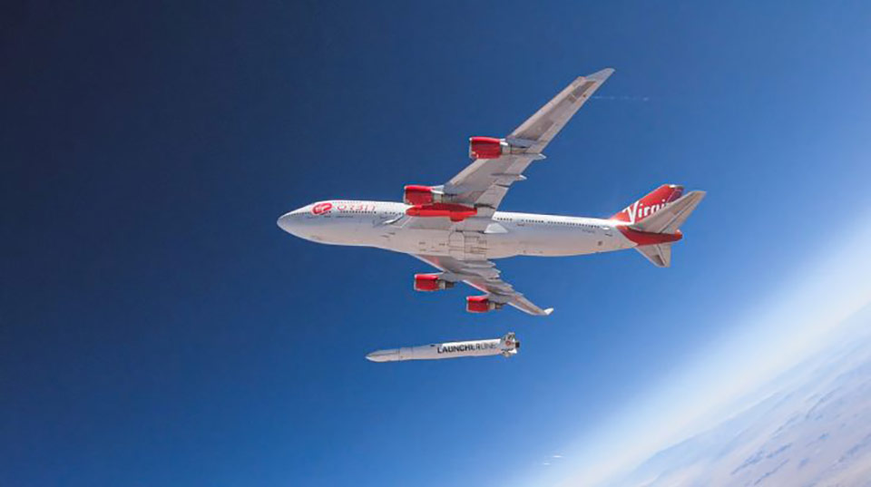 Virgin Orbit впервые вывела спутники на околоземную орбиту, используя воздушный старт