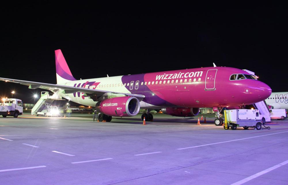 Wizz Air изменила стоимость багажа и других сборов