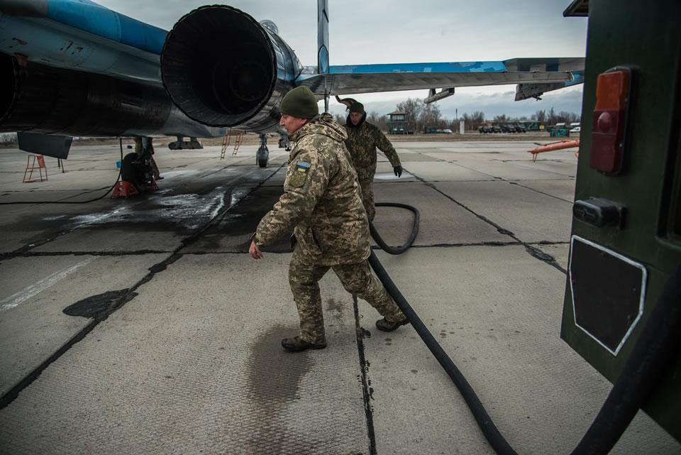 Батальон аэродромно-технического обеспечения 831 бригады обеспечивает полеты