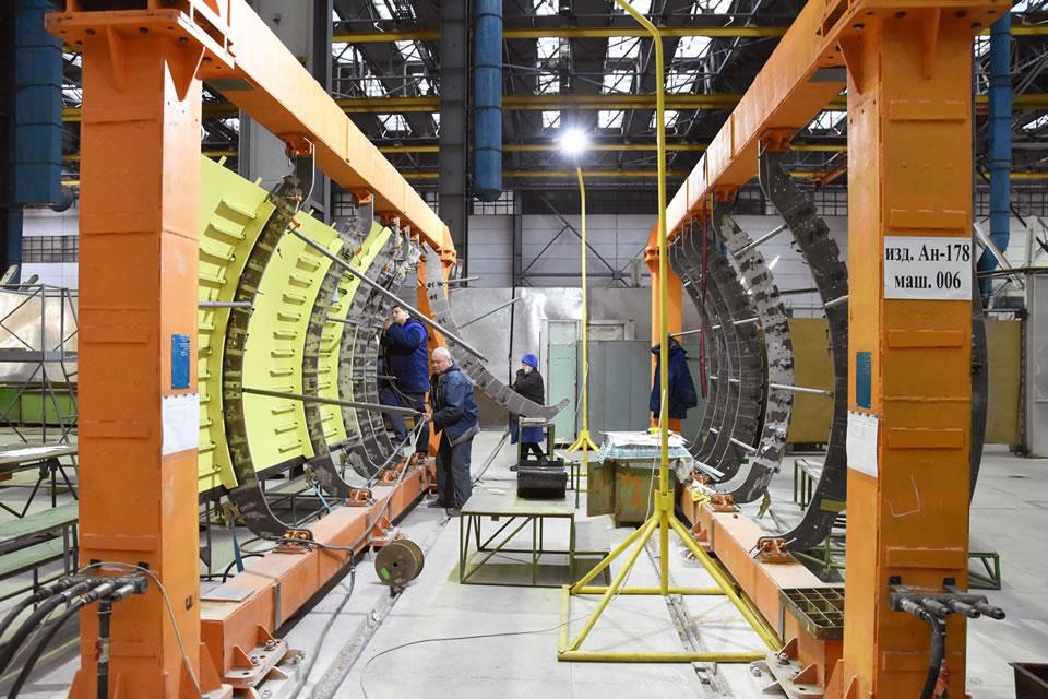 Фюзеляж первого Ан-178 для ВСУ будет готов до лета